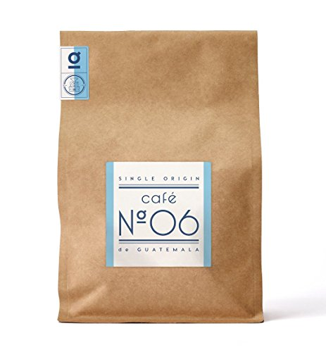 Kaffee N°06 aus Guatemala von Coffee858 – Handgerösteter Premium Single Origin Arabica – Fair...