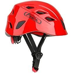 1 x Casco De Seguridad Cascos De Escalada Kayak Rapel Protector De Rescate - Rojo