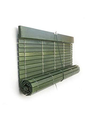 Jardin202 117 x 140 cm - Persiana Madera Verde Rustico
