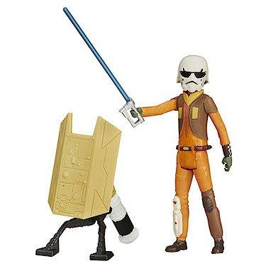 Hasbro B4180 – Star Wars Rebels – 9cm Ezra Bridger (Figur zum Kombinieren) [UK ()