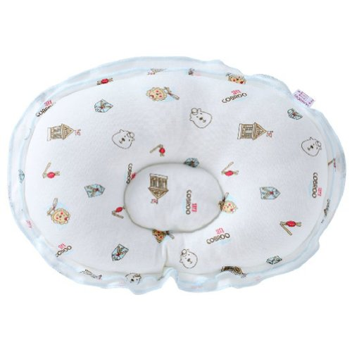 Toddle Protective flat head Baby Anti-roll Infant Head Support Pillow Lion WHITE