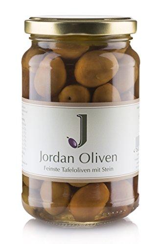 Jordan Oliven - 350g Glas