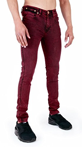 Arrested Development - Jeans - Skinny - Homme Bordeaux