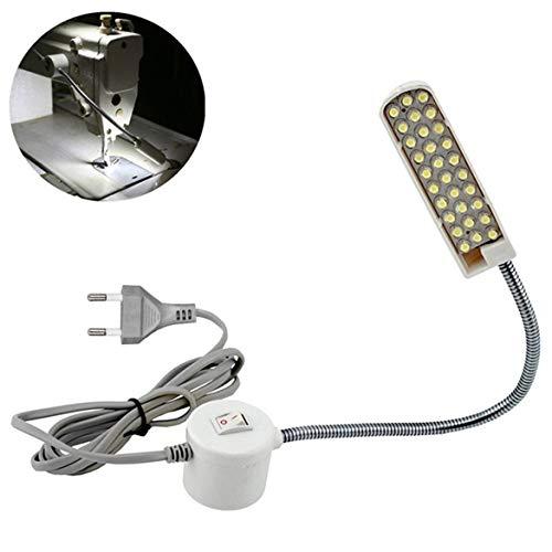 Super helle 30-Lampe Perlen Nähen Kleidung Maschinenleuchte Heimarbeit-Licht-Lampe Nähmaschine Zubehör (weiß)
