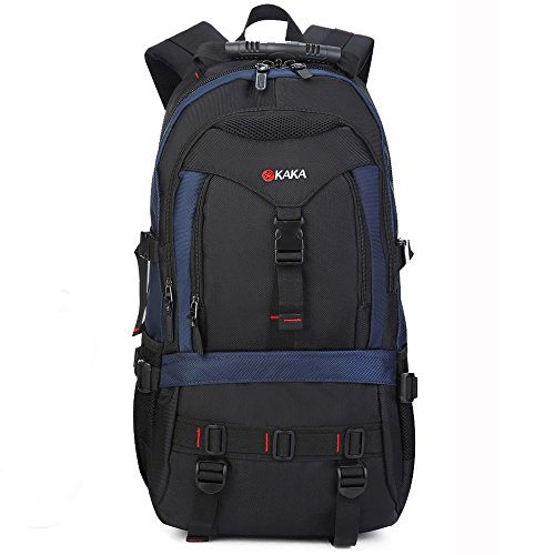 KAKA Hiking Camping Outdoors Mountaining Backpack Daypack Shoulder Bag Blue 2020# by Kaka