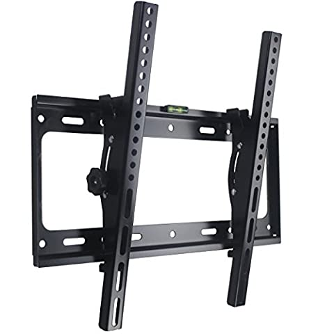 TV Wall Mount Bracket Tilt for most 26 - 55 inch Flat Screen Panel Plasma Monitor LED LCD up to 45 kg VESA 400mm×400mm Metal