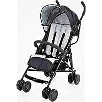 Blue Aohuada Sibling Pushchair Baby Pram Buggy Folding Twin Pushchair Baby Toddler Blue Grey Steel Foldable 6-36 Months