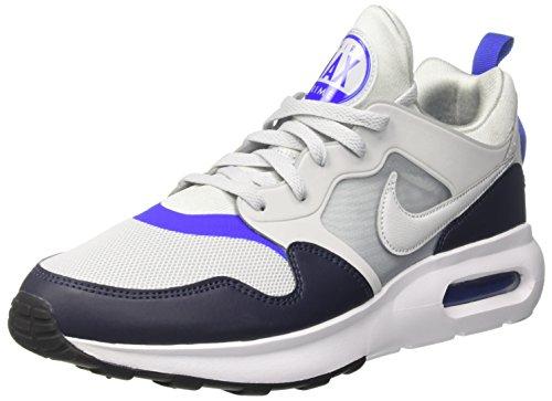 Nike Herren Air Max Prime Gymnastikschuhe, Silber Pure Gris Platinum-Racer Blue-o, 42 EU (High-top Nike-turnschuhe Für Männer)