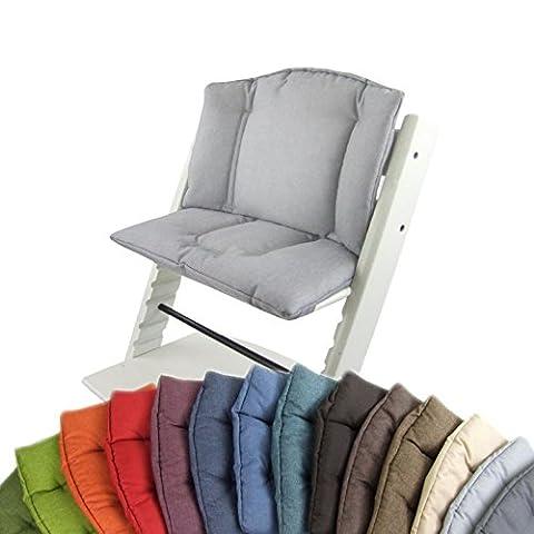 Bébé Siège Dreams de coussin Housse de coussin Coussin de rechange pour chaise haute Stokke Tripp Trapp * 5couleurs mélangé * 2pièces