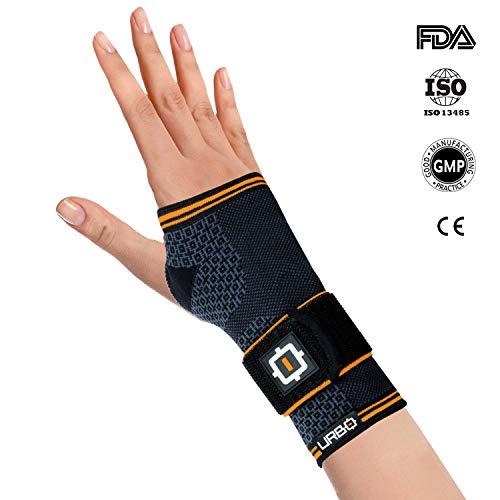 Urbo - Muñequera de compresión con soporte ergonómico para problemas de uso...