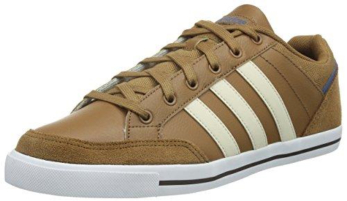 adidas NEO Herren Cacity Sneakers, Braun / Beige / Blau (Madera / Elfenbein / Azucen), 41 1/3 EU