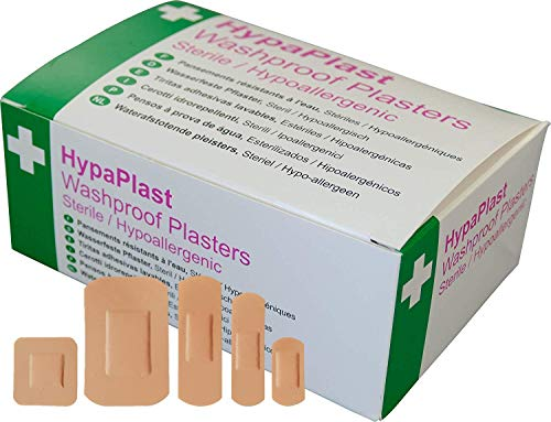 Preisvergleich Produktbild Safety First Aid D9010 Pflastersortiment, Wasserdicht, 100 Stück