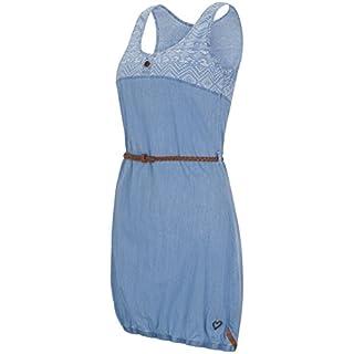 alife & kickin Doja Dress Damen Kleid, Light Demin, XL