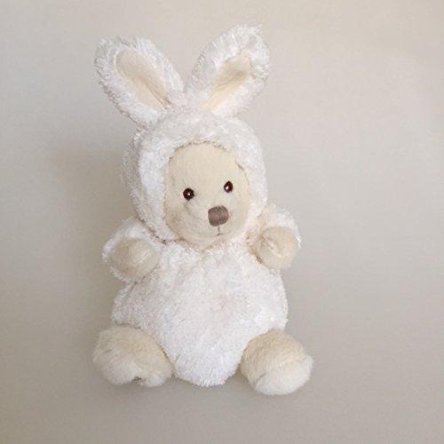 Preisvergleich Produktbild Bukowski,  Design of Sweden,  Ziggy Teddybär im Hasen-Kostüm,  15 cm,  Plüschhase sand / weiß