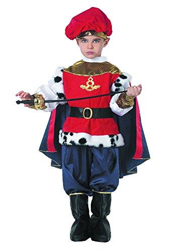 Unbekannt Königin Kostüm für Kinder (Größe -