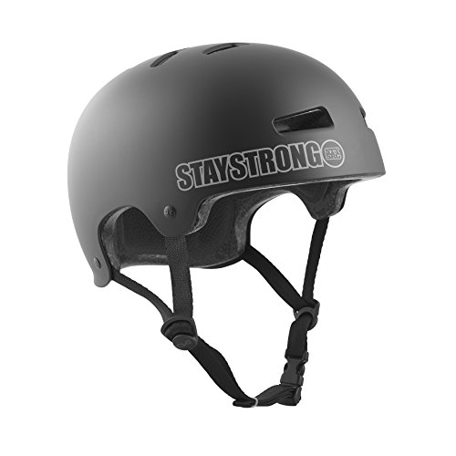 TSG Erwachsene Evolution Charity Helm, Stay Strong 3, S/M