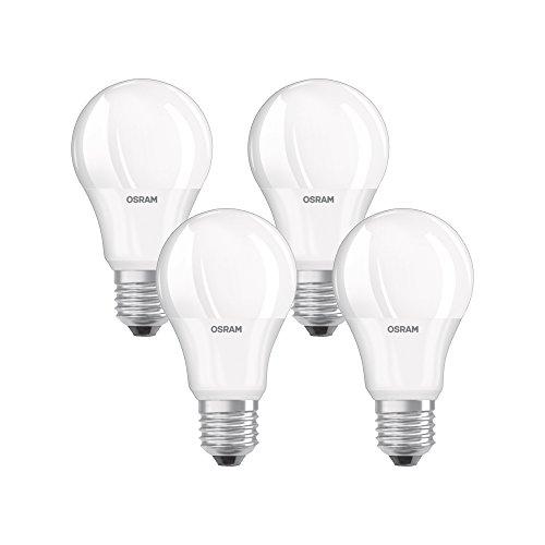 Osram 4058075819450 Ampoule LED Plastique 9,00 W E27 Blanc 4 pièces