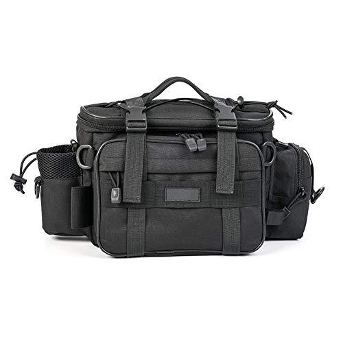 HUDUI Fischertasche Multifunktions Outdoor-Sport Schulter Messenger Bag Taschen Fanggeräte Lagerung Multifunktionsrucksack Angelausrüstung (Damen Fanggeräte)