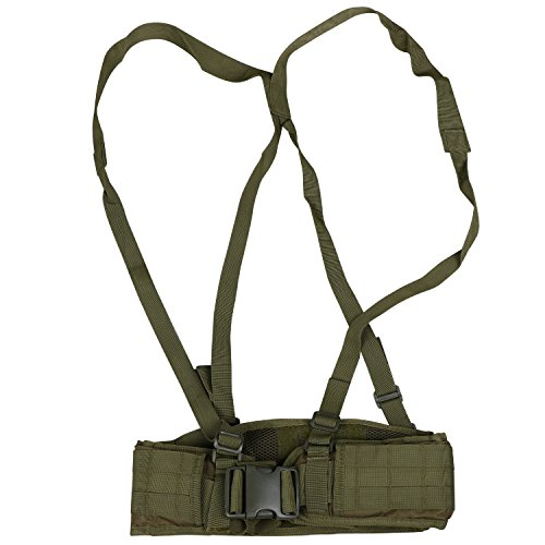 Preisvergleich Produktbild TRIXES High Performance Military grüner taktischer gepolsterter Kreuzgurt