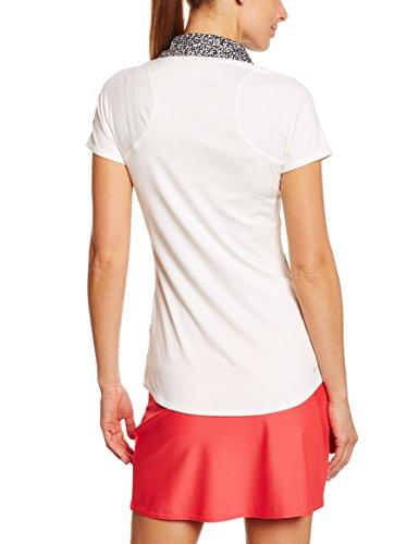 Nike Advantage Polo de tennis Femme Ivoire/ Noir