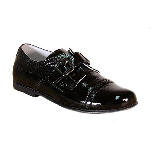 Naturino–Naturino Chaussures de cérémonie enfant noires boucle 4568 Noir