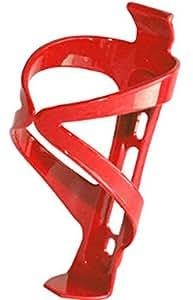 Bike rack Bottle Kettle Mountain Bike Plastique PC Eau Cages Vis gratuites Rouge