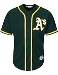 Majestic oakland athletics maillot alternatif mLB cool base vert