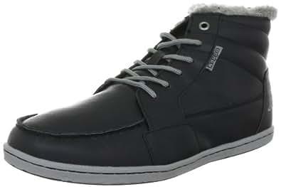 Kappa JAY Footwear, Synthetic, Herren Hohe Sneakers, Mehrfarbig (1116 BLACK/GREY), 44 EU (10.5 Herren UK)