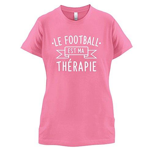 Le football est ma thérapie - Femme T-Shirt - 14 couleur Azalée