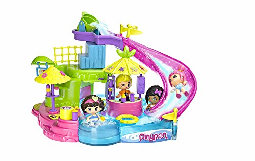 Pinypon Parco Acquatico Set Accessori con Mini Bambola, 700014346