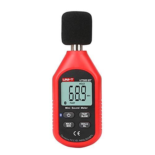 UT353BT Schallpegelmesser Digital Bluetooth Noise Meter Tester 30-130 dB Dezibel Überwachung Schallpegelmesser