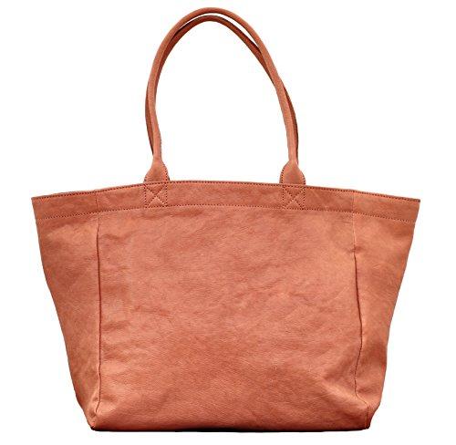 MON PARTENAIRE M Nude cabas en cuir sac à main style vintage PAUL MARIUS