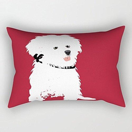 Hunde Kissenbezüge 30,5x 50,8cm/30by 50cm Beste Wahl für Liegestuhl, Wohnzimmern, Mutter, Sofa, Auto, Couch mit Twin Seiten 20 X 26 Kissen Legen