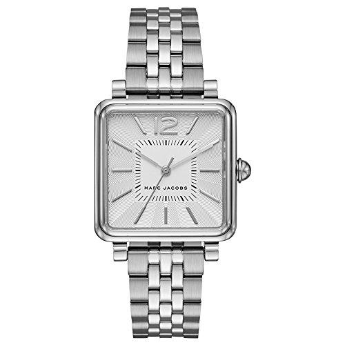 Marc by Marc Jacobs Damen Analog Quarz Uhr mit Edelstahl Armband MJ3461