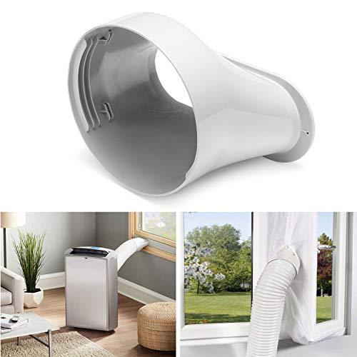 TOPAUP Fenster-Auspuff-Adapter, Fenster-Vent für Klimaanlagen, Lüftungsschlauch, Adapter, Befestigung 150 mm