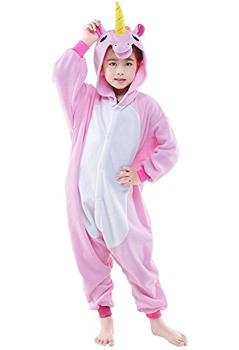 Hstyle Kinder Outfit Sleepsuits Warm Cartoon Pyjamas Halloween Kigurumi Onesies Einhorn - Halloween-kinder-outfits
