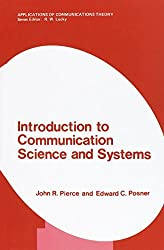 Introduction to Communication Science and Systems (Applications of Communications Theory) by John R. Pierce (1980-11-30)