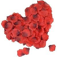 DigHealth 2000 Piezas Pétalos de Rosa, Petalos de Rosa Naturales, Petalos de Rosa para Bodas Decoración Fiestas Confeti, Petalos Artificiales