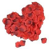 DigHealth 2000 Stück Rosenblätter, Rosenblüten für Hochzeit Party, Künstliche Rosenblätter für Valentinstag Romatische, Blütenblätter Hochzeit Feier Deko