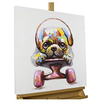 Amazon.de: KunstLoft® Acryl Gemälde 'Longboard Love