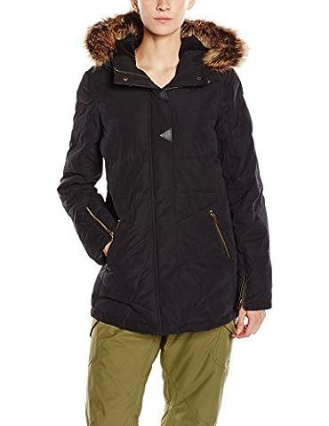 Volcom Hold Tight Women's Down Jacket Black black Size:M