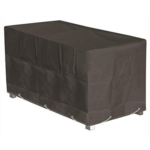 GREEN CLUB Housse de protection pour salon de jardin table + 6 a 8 chaises - 235x190x65 cm - Anthracite