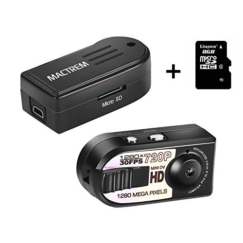 Mactrem-Mini-DV-Videocamera-Di-Sicurezza-1280-X-720-P-Registratore-DVR-Video