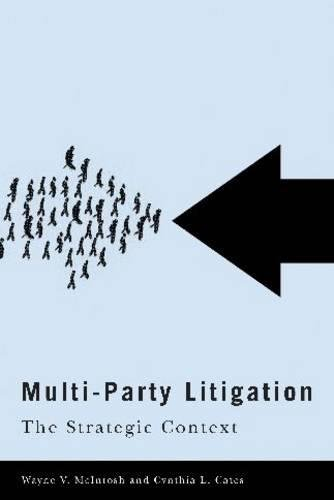 Multi-Party Litigation: The Strategic Context (Law and Society)