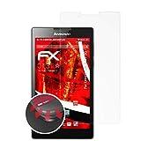 atFolix Schutzfolie passend für Lenovo Tab 2 A7-30 Folie, entspiegelnde & Flexible FX Bildschirmschutzfolie (2X)