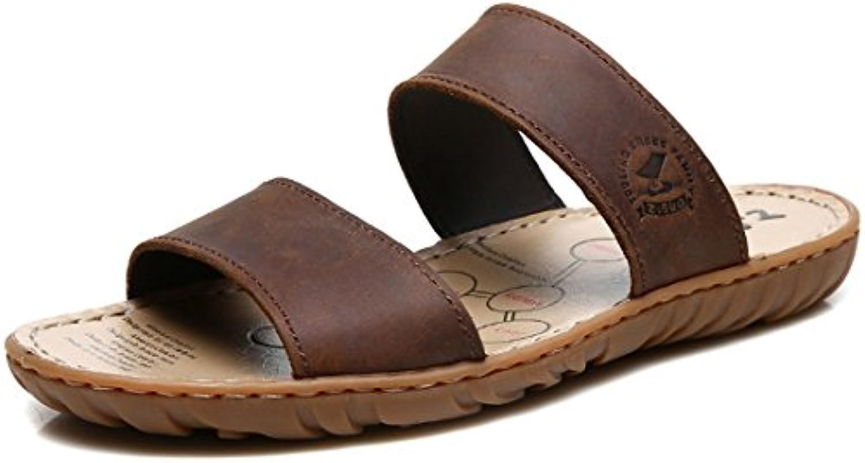 Jiyaru Hombre Chanclas Zapatillas de Playa Verano