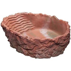 Badeschale, rot, 2.000 ml, 29x9x22 cm