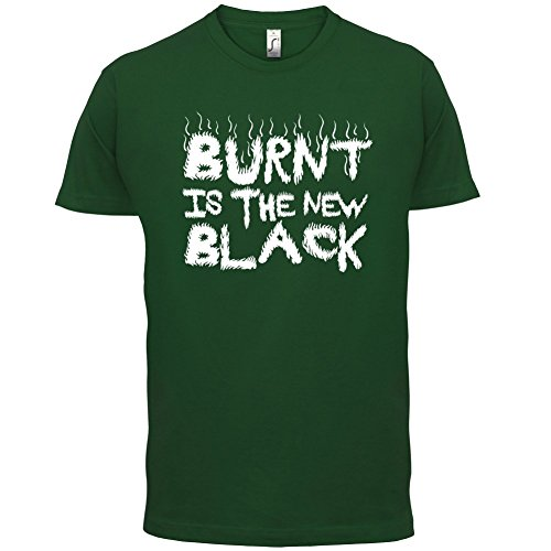 Burnt Is The New Black - Herren T-Shirt - 13 Farben Flaschengrün