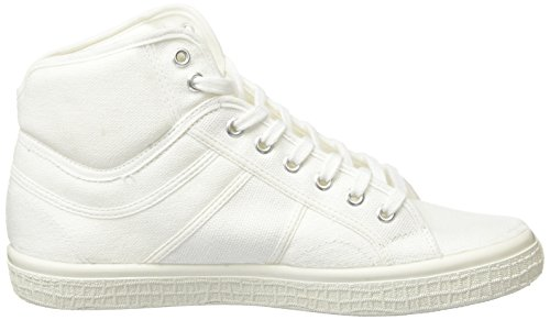 Kawasaki Boston Boot, 2.0, Baskets Basses Mixte Adulte Blanc - Weiß (White, 01)