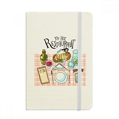 DIYthinker Das beste Restaurant Wein Limonade Notebook Stoff Hard Cover Klassisches Journal Tagebuch A5 A5 (144 X 210mm) Mehrfarbig (Restaurant Journal)